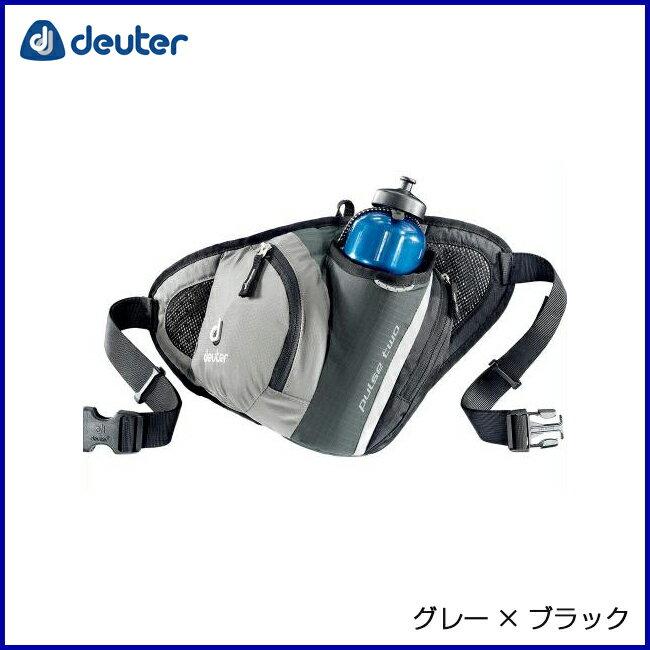 deuter ドイター パルスツー グレー×ブラック トラベル・ビジネス・デイパック・ヒップパック