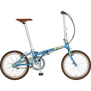 DAHON/ダホン Boardwalk I5 ボードウォーク I5 マットスモークブルー(9009) 折りたたみ自転車 自転車本体