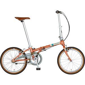 DAHON/ダホン Boardwalk I5 ボードウォーク I5 マットコーラル(9010) 折りたたみ自転車 自転車本体