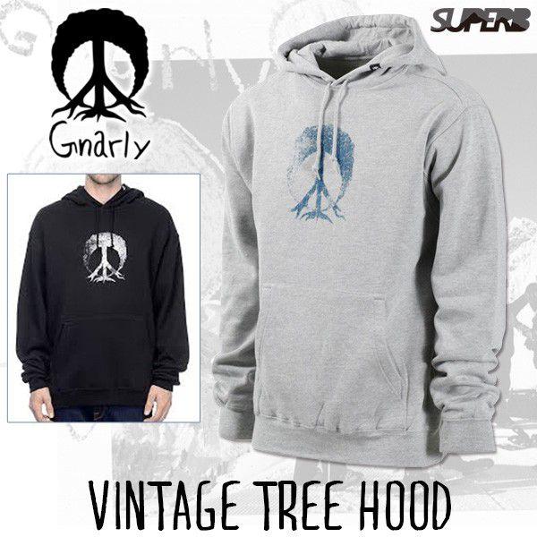 VINTAGE TREE HOOD/ヴィンテージツリーフード(GNARLY/ナーリー)パーカー・アパレル