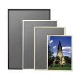 ポスターパネルA3サイズカラーは4色作品を引き立てるスマートな形状