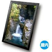 ポスターパネルA3サイズカラーは4色幅広の直角コーナー重厚感あるポスターパネル