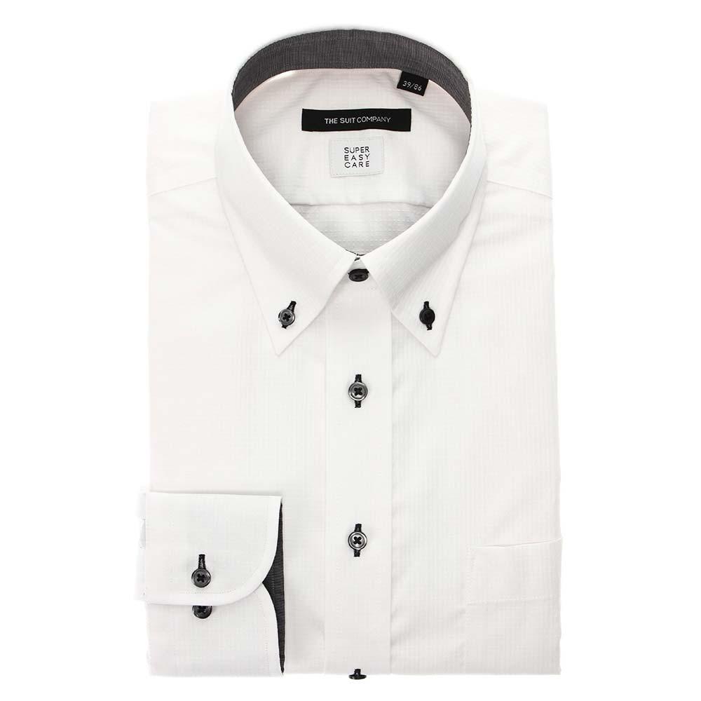 ザ・スーツカンパニー『【SUPEREASYCARE・再生繊維】ボタンダウンカラードレスシャツ』