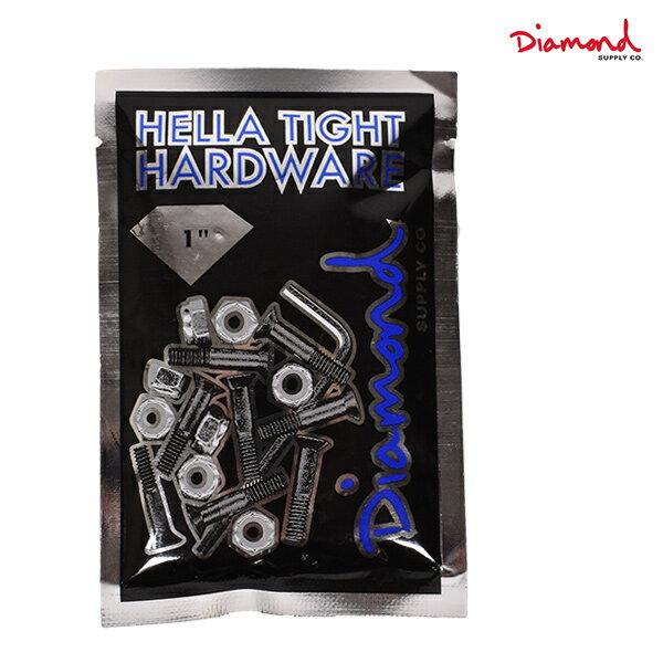 スケートボード パーツ ビス Diamond Supply Co. ダイヤモンド サプライ DHTH1-12PAC HELLA TIGHT HARDWARE 1inch GG B10