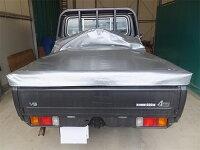 ランクル70ピックアップトラック荷台シート