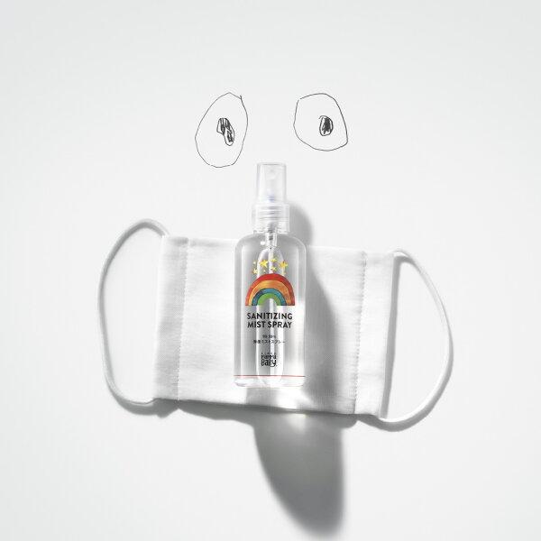 除菌ミストスプレー365日携帯用除菌スプレー100mL携帯用日本製アルコールフリーウイルス対策赤ちゃんベビー子ども子供用手