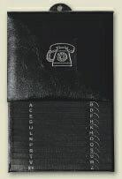 ダブルで電話番号管理!【BRUNNEN A-Zテレフォン】ブルンネン|ドイツ|おしゃれ|レトロ|ブラッ...
