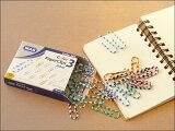 【MASカラフルペーパークリップ】【ポスト投函OK】マス|デスク|整理|ヨーロッパ文具|雑貨|おしゃれ|トルコ|オフィス|事務用品|メモ|