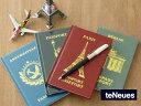 旅のお供に★パスポートサイズノート♪【メール便OK】【TENEUES パスポート ジャーナル ノー...