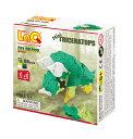 【LaQ Dinosaur World Mini Triceratops】 【宅配】 ラキュー 日本製 手作り ブロック 知育 教材 子供 プレゼント クラフト リハビリ 玩具 おもちゃ 知育教材 脳科学 数学 パーツ 恐竜 レックス 【楽ギフ_包装】