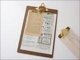 【hightideペンコゴールドクリップボードA4【宅配】ハイタイド|日本|ファイル|オフィス|文具|文房具|クリップボードO/Sゴールド|レトロ|伝票|書類|用紙|メモ|壁掛け|チップ|
