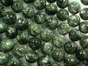 天然石ビーズ セラフィナイト丸玉10mm・1連40cm40個前後
