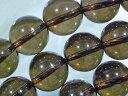 天然石ビーズ スモーキークオーツ丸玉10mm・10個