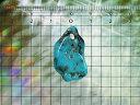 パイライトターコイズのペンダントトップアリゾナ産12.8carat No.2