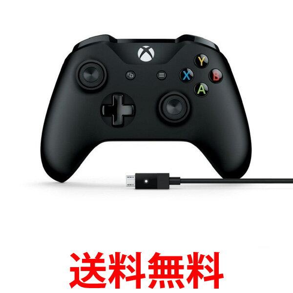 Microsoft 4N6-00003 マイクロソフト ゲームコントローラー Bluetooth 有線接続 xbox one/Windows対応 PC用USBケーブル同梱 4N600003  【SK06729】