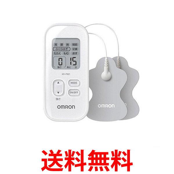 OMRON HV-F021-WH オムロン HVF021WH 低周波治療器 ホワイト  【SK00426】