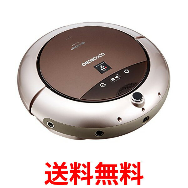 シャープ(SHARP) ロボット掃除機 RX-V95A-N ココロボ COCOROBO プラズマクラスター搭載 ハイグレードモデル ゴールド  【SG09034】