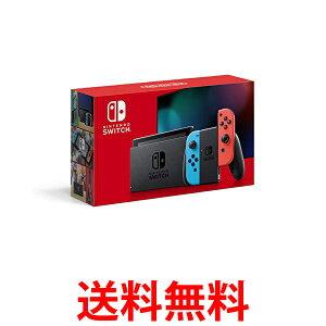 Nintendo Switch 本体 Joy-Con(L) ネオンブルー/(R) ネオンレッド(バッテリー持続時間が長くなったモデル) 送料無料 【SK09895】