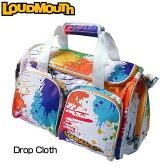 """[クーポン有][日本規格]Loudmouth/ラウドマウス 2016 """"Drop Cloth"""" ボストンバッグ(シューズインポケット付) LM-BB0002-001 ラウドマウス """"ドロップクロス""""[新品]メンズ/レディース/子供用子ども用こども用[TW10]"""