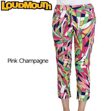 [45%off][ラスワンMsize][日本規格][レディース]ラウドマウス カプリパンツ (Pink Champagne ピンクシャンパン) 726204(037) 春夏[新品] Loudmouth 16SS 七部丈 レディス 女性用 ボトムス