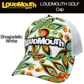"""[クーポン有][20%off][日本規格]Loudmouth(ラウドマウス) 2016 Cap(Hat) """"(003)Shagadelic White"""" ラウドマウス メッシュキャップ(ハット) """"シャガデリックホワイト"""" 726105[新品]ゴルフウェア帽子メンズ/レディース/子供用子ども用こども用"""