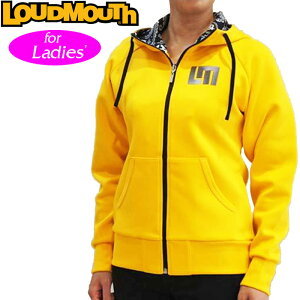 【日本規格】【レディース】Loudmouth(ラウドマウス)2016長袖フルジップスウェットパーカー726704
