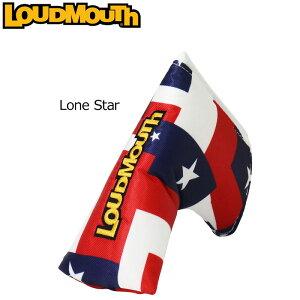 ラウドマウス ヘッドカバー パターカバー(ブレード型/ピン型) (ローンスター/Lone Star) LM-HC0006/PN/768981(115)【日本規格】【新品】 18SS Loudmouth ゴルフ用品 メンズ レディース 派手 派手な 柄 目立