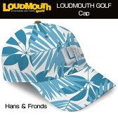 """【New】Loudmouth Cap(Hat) """"Hans & Fronds"""" ラウドマウス キャップ(ハット) """"ハンス&フロンズ"""" 【新品】ゴルフウェア帽子メンズ/レディース/子供用子ども用こども用/ラウドマウス"""
