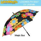 [クーポン有]ラウドマウス 晴雨両用全天候アンブレラ (Magic Bus マジックバス) UV Umbrella #8418[新品]Loudmouth雨傘日傘パラソル