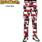 [Newest][日本規格]ラウドマウス 2018 メンズ ロングパンツ (ローンスター Lone Star) 768301(115) 春夏[新品]18SS Loudmouth ゴルフウェア 男性用 ボトムス LM