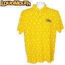 【メール便可250円】ラウドマウス 2019 メンズ 半袖 ボタンダウン ポロシャツ プレミアムカノコ Yellow 769602(993) 春夏【Newest】【日本規格】【新品】 19SS Loudmouth トップス