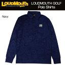 [日本規格]2017Loudmouth(ラウドマウス)メンズポロシャツ
