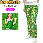 """[タイムセール55%off][レディス]Loudmouth Women's Pants """"Erin Go Bragh"""" (ラウドマウス レディース ロングパンツ ジーンズカット """"エリン・ゴー・ブラウ"""")[新品]Loudmouthレディス女性用ゴルフウェアボトムスNew Comer tmsl"""