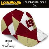 """【Sale 50%off】Loudmouth Cap(Hat) """"Merlot & Chardonnay"""" ラウドマウス キャップ(ハット) メルロー&シャルドネ 【新品】ゴルフウェア帽子メンズ/レディース/子供用子ども用こども用"""