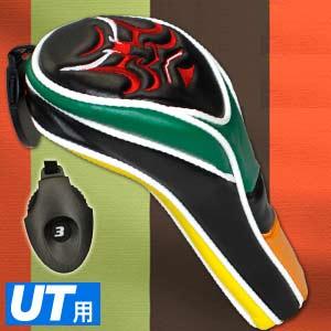 歌舞伎 ストレートヘッドカバー  ユーティリティ用 WHC1638【新品】ゴルフ用品