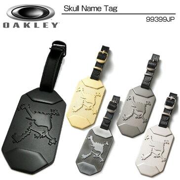 Oakely(オークリー) Skull Name Tag 99399JP スカル ネームタグ メーカー純正ネームプレート【新品】キャディバッグ ボストンバッグ
