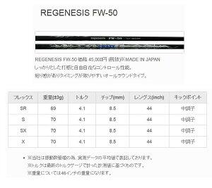 CRAZY(クレイジー)REGENESISFW-50FWフェアウェイ専用カーボンシャフト単品正規品