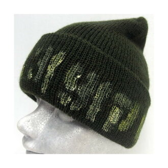 SHANANA MIL(shananamiru)[U.S.ARMY WOOL BEANIE CAP]Made in U.S.A.] 值班蓋子/羊毛/編織物便帽!