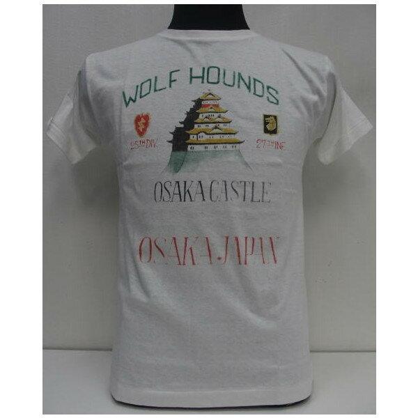 トップス, Tシャツ・カットソー HELLERS CAFE()by WAREHOUSE Original T-ShirtsWOLF HOUNDSLot.HC-M13T-