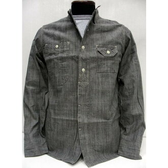 SUNNY SPORTS(sanisupotsu)[Organic 40's Work Shirts]shambure/工作襯衫/營業員襯衫/長袖子襯衫/日本製造!