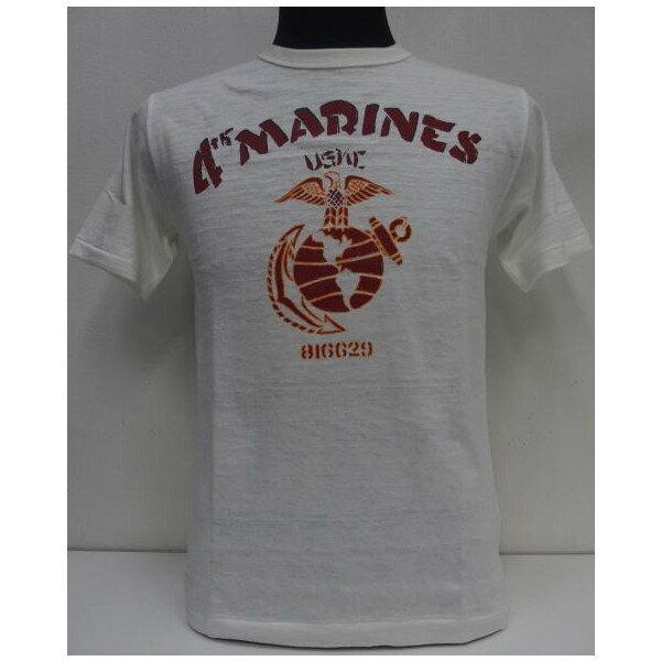 トップス, Tシャツ・カットソー HELLERS CAFE()by WAREHOUSE Original T-ShirtsMARINESLot.HC-M21T-