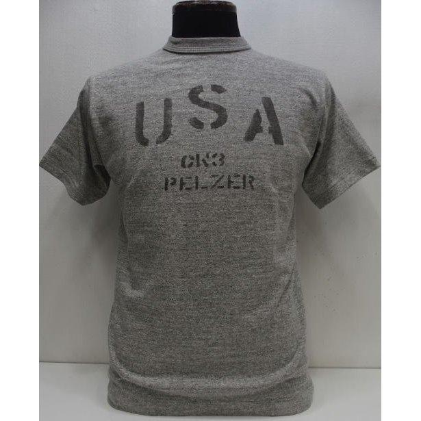 トップス, Tシャツ・カットソー 2021 WAREHOUSE()Original Tee Lot. 4601USA-Heather GrayLot 4601 USA T