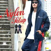 ジャージ セットアップ ナイロン メッシュ スポーツ ファッション