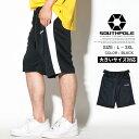 SOUTH POLE【サウスポール】ハーフパンツ ジャージ トラックパンツ ヒップホップ ストリート系 ファッション