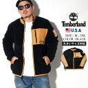 Timberland ティンバーランド シェルパ フリース ジャケット メンズ ボア アウター 大きいサイズ ジャケット フルジップ USAモデル TB0A1WW5 ストリートファッション アウトドア