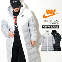 NIKE ナイキ ロング ダウンジャケット メンズ 大きいサイズ 冬 ベンチコート ダッグダウン 防寒 アウター おしゃれ ストリートファッション スポーツの商品画像