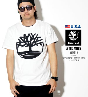 TimberlandティンバーランドTシャツメンズUSAモデルショートスリーブスモールツリーロゴTシャツTB0A1N8X2018秋冬新作