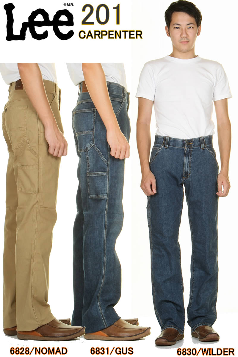 メンズファッション, ズボン・パンツ Lee 201 PAINTER 201 Lee 201-6828-6830-6831 Lee RIDERS CARPENTER Lee 201