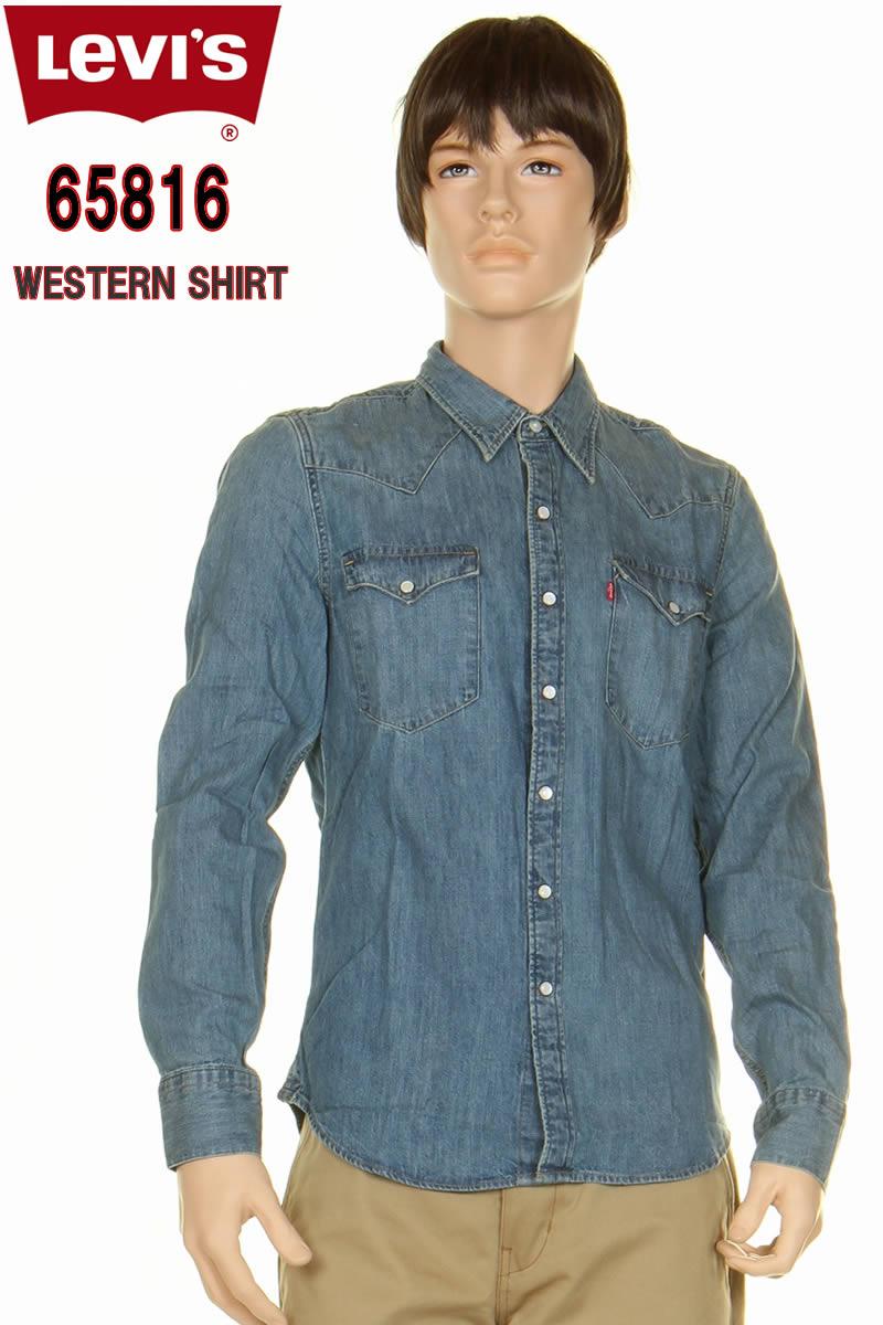 メンズファッション, ズボン・パンツ  65816 LEVIS RED TAB CONE DENIM WESTERN SHIRT 658160006 LEVIS RED TAB