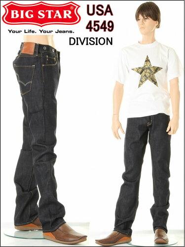 BIG STAR JEANS BS-DIVISION RAW 4549 ビックスター 赤耳セルビッチデニム グリームロウ DENIM ヴ...